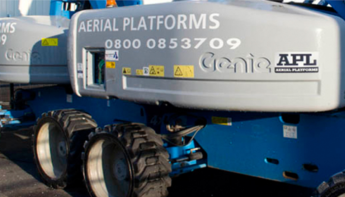 Aerial Platforms Ltd – Thermoil Now Standard Practice!