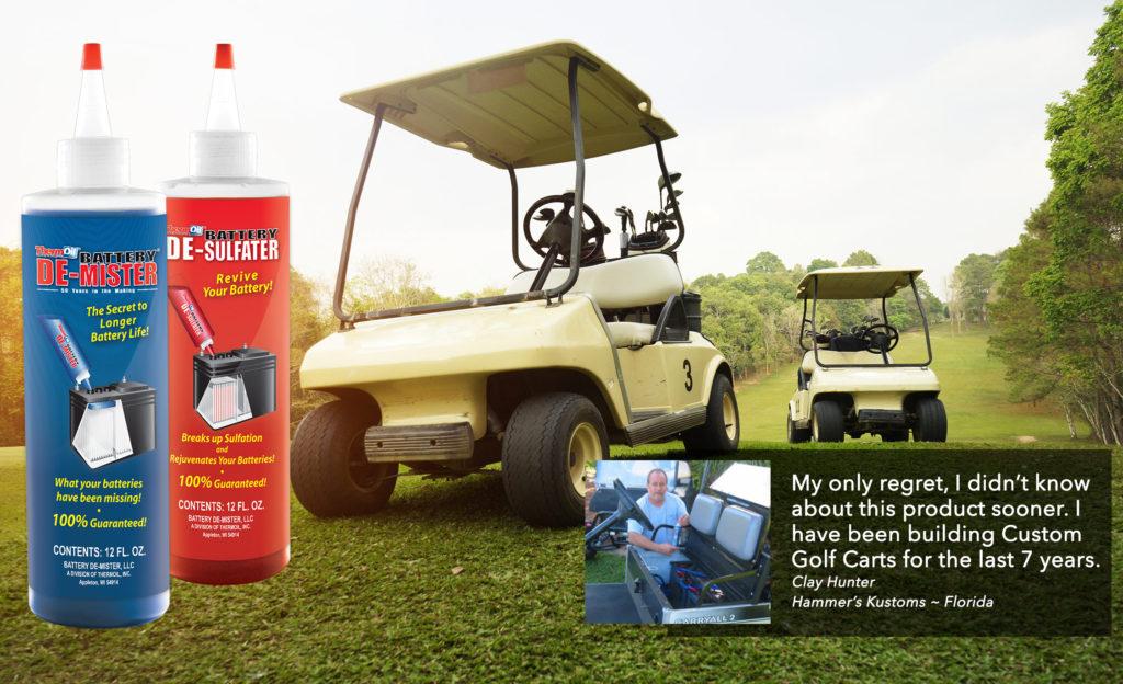battery additives, thermoil, extend battery life, golf carts,golf cart battery, extend the life of my golf cart batteries